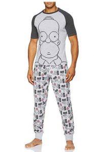 pijama para hombre homer simpsons