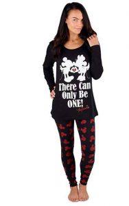 pijama para mujer de mickey y minnie