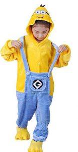 pijama minions para niña
