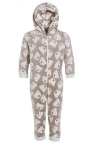 pijama forro polar niño
